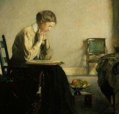 pintura de Edmund Charles Tarbell (1909)