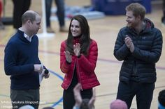 The Duke and Duchess of Cambridge and Prince Harry got their running shoes on as they joined a training day with the runners taking part in ...