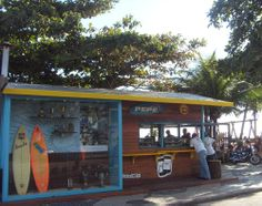 Barraca do Pepé, un lugar para comer, hacer surf y escuchar música en Rio de Janeiro - http://riodejaneirobrasil.net/barraca-do-pepe-un-lugar-para-comer-hacer-surf-y-escuchar-musica-en-rio-de-janeiro/ #RioDeJaneiro #Brasil #Turismo