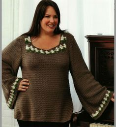 NellyBlog - this blog offers many crochet patterns for us, the curvy lot!!! <3<3<3