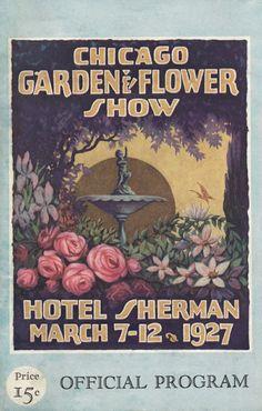 Chicago Garden & Flower Show - 1927 Program