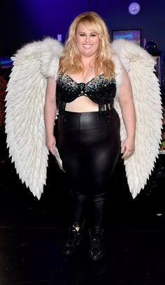 Pin for Later: Rebel Wilson S'est Transformée en Ange de Victoria's Secret Lors des MTV Movie Awards