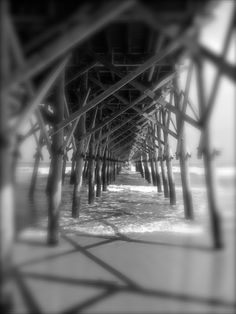 Photo of the Week: Folly Beach pier in South Carolina, by Chris Harrison  Find out how your photo can be our next photo of the week!  #travel #photography