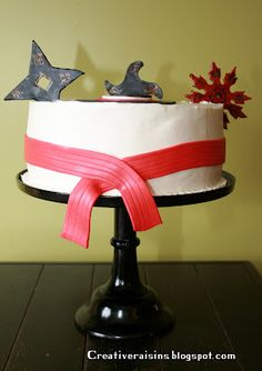 karate party cake