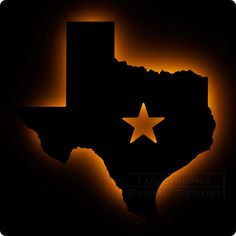 Texas Wall Light - Bright Texan Theme Night Light on Etsy, $70.00