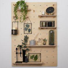 Large Pegboard, Wooden Pegboard, Ikea Pegboard, Pegboard Display, Pegboard Storage, Pegboard Headboard, Paper Storage, Craft Storage, Peg Board Walls
