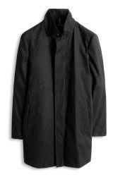 Esprit  Abrigo de cuello alto en mezcla de algodón