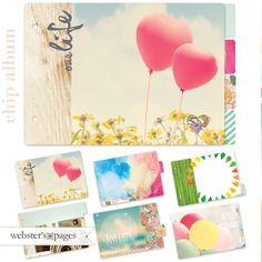 Dream in Color Chipboard Album