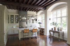 New England Kitchen, London classico-cucina