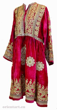 Vintage afghanistan ethnic traditional dress costume Nomaden afghan kleid
