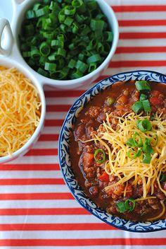 Healthy and Clean Turkey Chili, via eat-yourself-skinny. Al 3 keer gemaakt, heerlijk