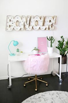 home accessory tumblr home decor home office home furniture furniture chair table lamp plants wall decor desk