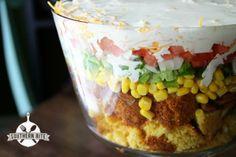 Cornbread Salad-  Folks go CRAZY over this stuff!