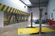Garage parking slots