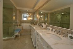 Ponce Inlet Seaside Retreat - master bath Pathfinder Group Designs