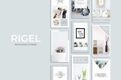 Rigel Instagram Stories by SlideStation on @creativemarket