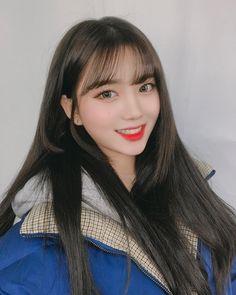 Korean Bangs, Asian Bangs, Asian Hair, Ulzzang Hair, Ulzzang Korean Girl, Cute Asian Girls, Cute Girls, Korean Girl Photo, Girl Korea