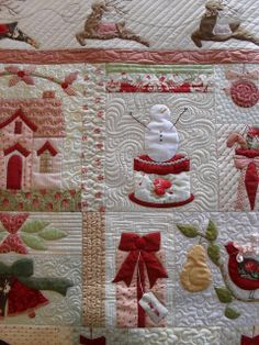 a beautiful quilt for Christmas.