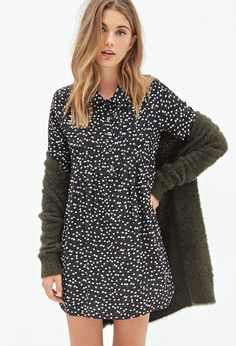 Ditsy Floral Shirtdress   FOREVER21 - 2000098968