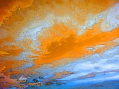 Vibrant Sea - Bold Bright Seascape Art by Sharon Cummings.
