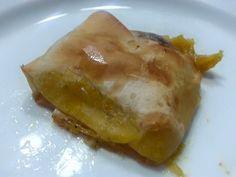 Fagottini di Fillo con Crema di Peperoni e Patate