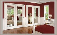 How To Refinish Your Mirrored Closet Doors