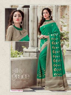 BOLLYWOOD DESIGNER SAREE SARI INDIAN ETHNIC PAKISTANI WEDDING NEW PARTY WEAR #Unbranded #SareeSari #CasualWear