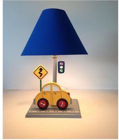 Boys Room Lamp