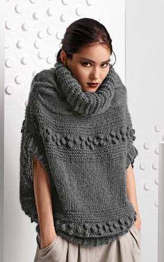 Bergere de France Origin Sweater Knitting Pattern