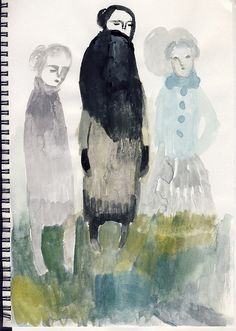 cathy cullis   like to try this using deli paper then having main figure on top of deli paper