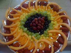 May 13th we honor Our Lady of Fatima. How about this Miracle of the Sun Fruit Platter?!