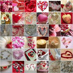 1. the most beautiful roses pic ever taken., 2. Hand-Iced Valentine's Day Cookies, 3. lOve iS, 4. Sweet Heart, 5. Sewn Paper Valentines, 6. Valentine Calling Card Box, 7. antique valentine postcard, 8. red heart on the pink flower, 9. Silver Heart Tokens, 10. Close -Up Pink Chocolate Strawberry Heart, 11. A tulle heart wreath I made, 12. Patchwork Heart, 13. lavendel heart, 14. Hearts & Ribbons, 15. Vintage, antique and modern Button Heart Brooch 2nd Series No.1, 16. button heart welcome…