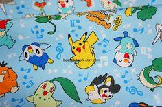 pokemon fabric.