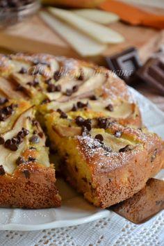 torta pere e cioccolato nuova ♦๏~✿✿✿~☼๏♥๏花✨✿写☆☀🌸🌿🎄🎄🎄❁~⊱✿ღ~❥༺♡༻🌺TH Jan ♥⛩⚘☮️ ❋ Sweet Pie, Sweet Bread, Italian Desserts, Italian Recipes, Torte Cake, Bakery Cakes, Sweet Cakes, Something Sweet, Cake Cookies