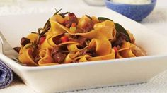 Pappardelle with lamb, pancetta, rosemary and Napoletana sauce | Recipes | MasterChef Australia