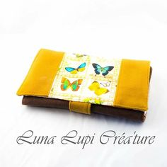 luna lupi crea'ture sur Instagram: Oyez oyez ! Suite de la collection Vintage Butterfly avec ce porte feuille (modèle complice de Sacôtin ), Compagnon idéal pour ranger…