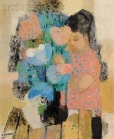 la composition du bouquet, noe canjura.
