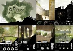 Results of the Rehabilitating Mapo Oil Depot into a Cultural Depot Park competition Honorable Mention (1 million KRW; approx. US$982): The Door by Architecture Studio hANd + PROAP(Portugal) + Manuel Aires Mateus (Portugal)