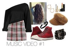"""""""Music Video #1"""" by keylingering on Polyvore featuring Carven, Converse, Barbara Bui, Miss Selfridge, Nordstrom, Stila, Guerlain, music, video and creativity"""