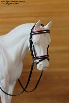 Model Horse Black English Bridle Cross Country Show Jumping Dressage