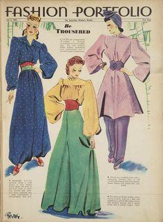 Australian Women's Weekly July 6 1940: Be Trousered