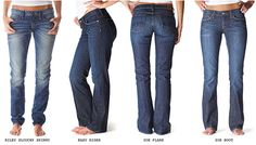 Jeans... Jeans and more Jeans