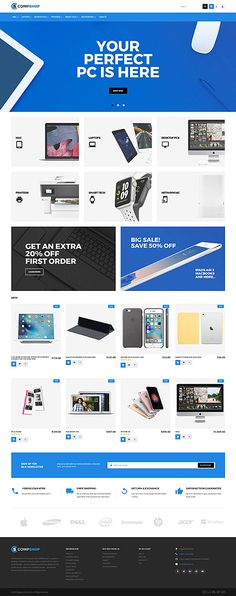 CompShop - #computer  Store #magento  #theme