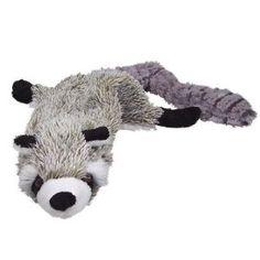 Ethical Pet Plush Skinneeez 24-Inch Dog Toy, Raccoon,$6.61