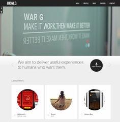 Weekly inspiration - Responsive web design