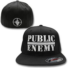 dbf61673c16 Public Enemy Fitted Hat Stylish Caps