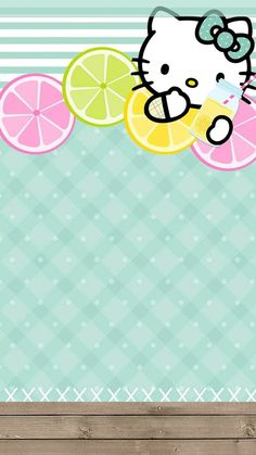 Image discovered by GLen =^● 。●^=. Find images and videos about wallpaper, background and hello kitty on We Heart It - the app to get lost in what you love. Hello Kitty Iphone Wallpaper, Hello Kitty Backgrounds, Cute Wallpaper For Phone, Love Wallpaper, Colorful Wallpaper, Computer Wallpaper, Wallpaper Backgrounds, Hello Kitty Imagenes, Hello Sanrio