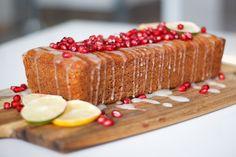 Celozrnný citronový chléb sgranátovým jablkem – Jezte sláskou