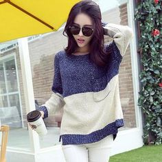 Buy 'Soft Luxe – Color-Block Pocket Sweater' with Free International Shipping at YesStyle.com. Browse and shop for thousands of Asian fashion items from China and more!