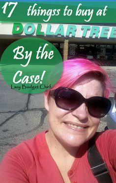 Lazy Budget Chef: 17 Things You Should Buy From Dollar Tree by the Case to Save Money